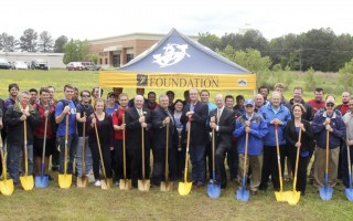 SAU breaks ground for engineering building