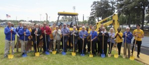 Muleriders break ground on two big projects