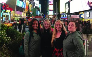 SAU theatre students savor Big Apple trip