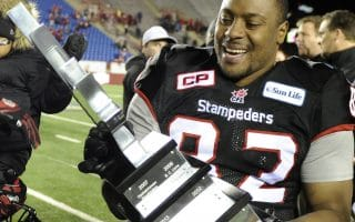 Nik Lewis becoming all-time reception leader in Canadian Football League