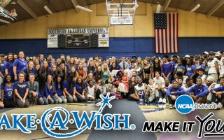 A magical Make-A-Wish® reveal