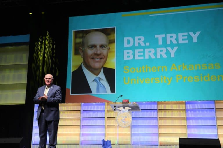 Trey Berry FFA