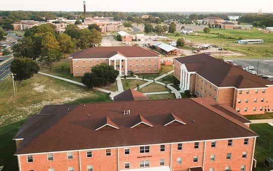 New residence halls at SAU