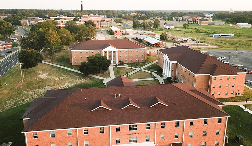 New residence halls at SAU